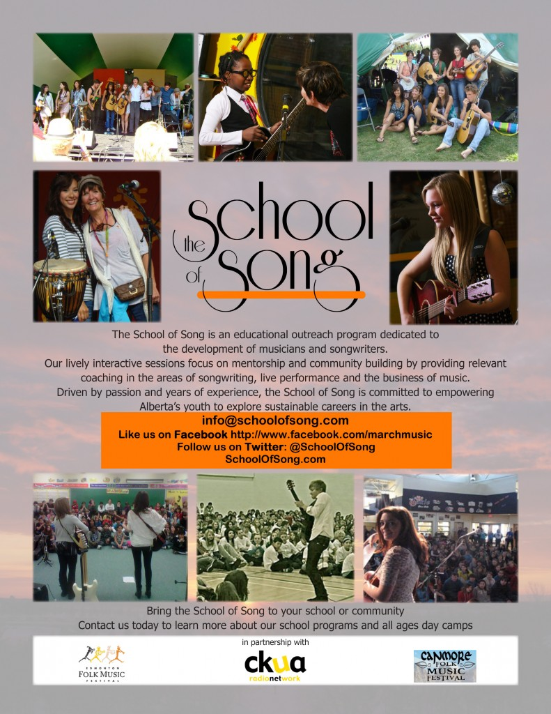 School of Song poster